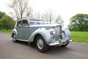 1954 Bentley Wedding Car hire in wigan