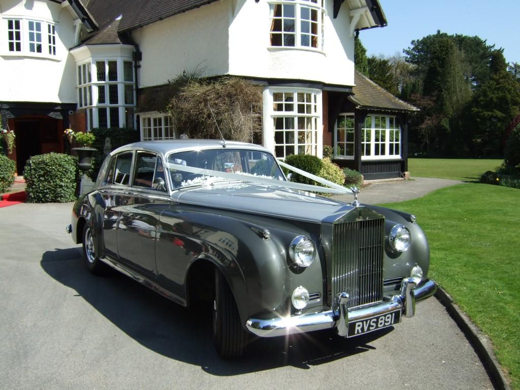 Wedding car in wirral
