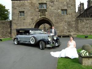 Dureau Convertable Wedding Car
