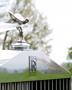 A Rolls Royce wedding car service every time