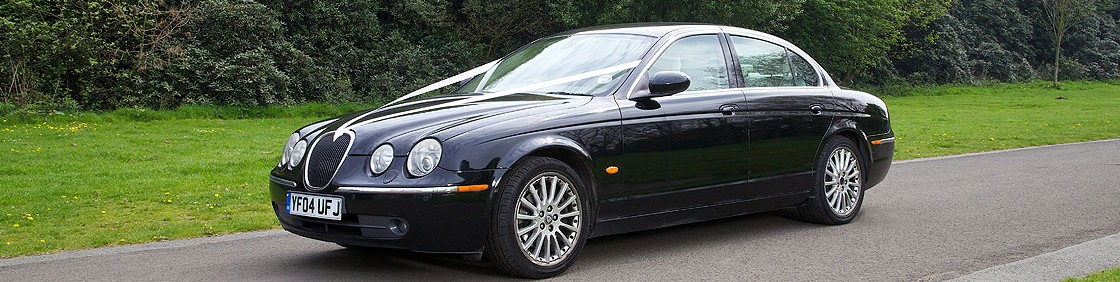 Jaguar S-Type Wedding Car