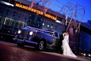 Rolls Royce Wedding Car Old Trafford