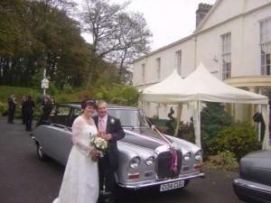 daimler wedding car2