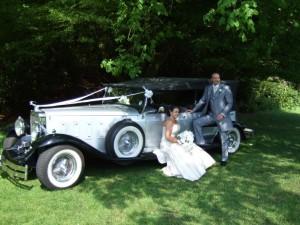 Wedding car St Helens