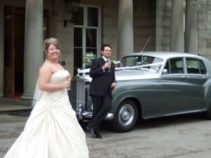 rolls royce wedding car2