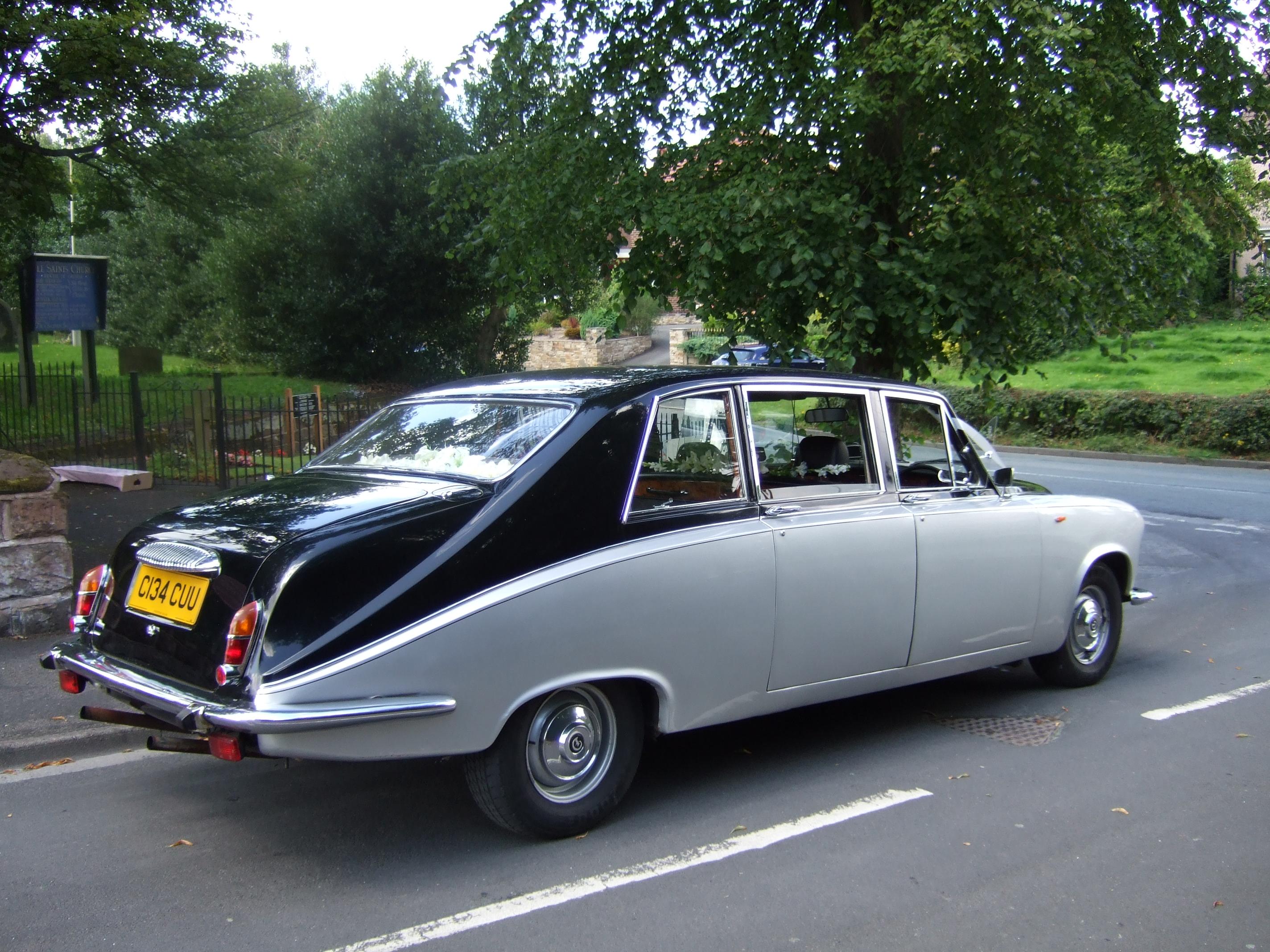 Daimler Wedding Car In Leyland Elegance Wedding Cars