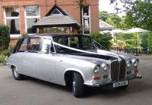 Wedding car Bury