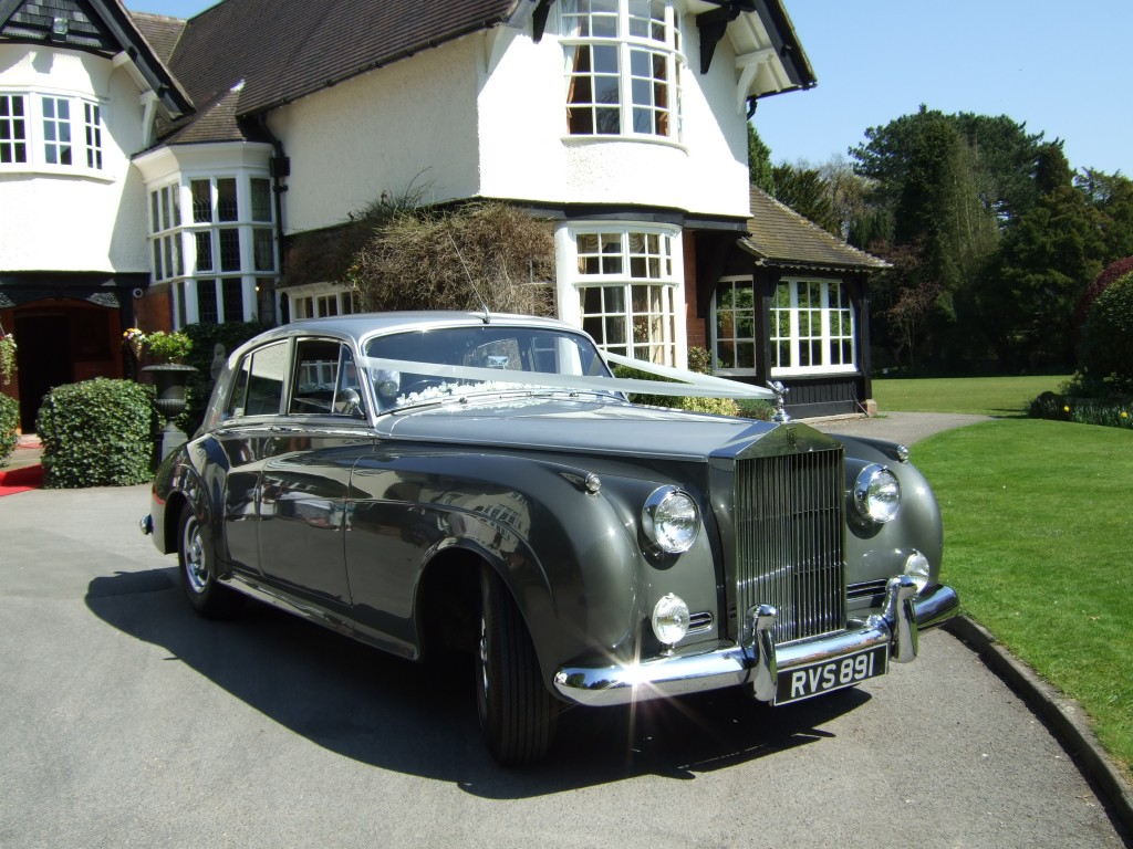 Rolls Royce Wedding car in Bury