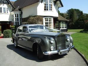 Rolls Royce Wedding car in Bury