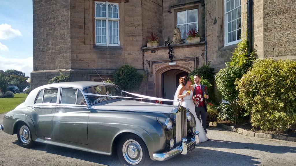 rolls royce wedding car wirral